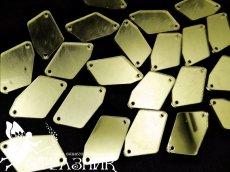 Пришивные зеркала 17*32мм Lt.Gold