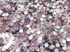 Стеклянные стразы Люкс ss20, ss16, ss6, ss4  цвет Pink Opal