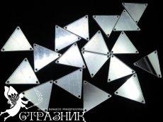 Пришивные зеркала 16х16мм и 28х28мм Silver