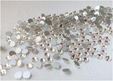 Стеклянные стразы Люкс ss3/4/6/8/10/12, цвет Crystal