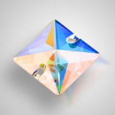 Пришивные стразы Preciosa Crystal AB 16мм