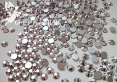 Стеклянные стразы Люкс ss6/16/20/30/34, цвет Mine Silver