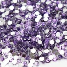 Стеклянные стразы Люкс ss12, ss16, ss20, ss30 цвет Violet