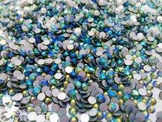 Стеклянные стразы Люкс ss20 (4.6-4.8мм), цвет Olive AB -50%