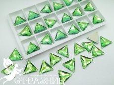 Стеклянные стразы Crystal Unite Peridot 16мм
