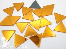Пришивные зеркала 16х16мм и 28х28мм Gold