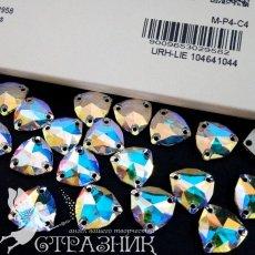 Swarovski арт. 3272 Crystal AB пришивные стразы 16мм