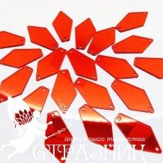 Пришивные зеркала 15*28мм Siam