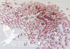 Стеклянные стразы Люкс ss6, ss8, ss10, ss12, ss16, ss20, ss30 цвет lt. pink